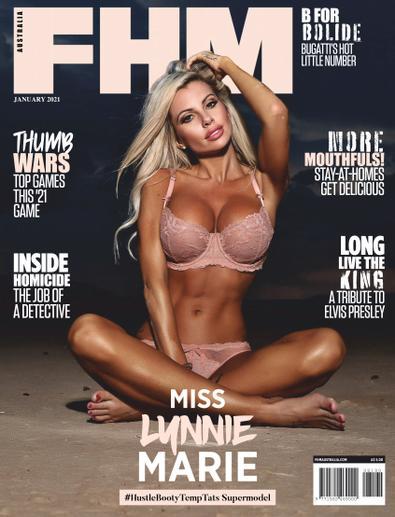 FHM Australia digital cover