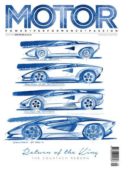 MOTOR Magazine Australia digital cover
