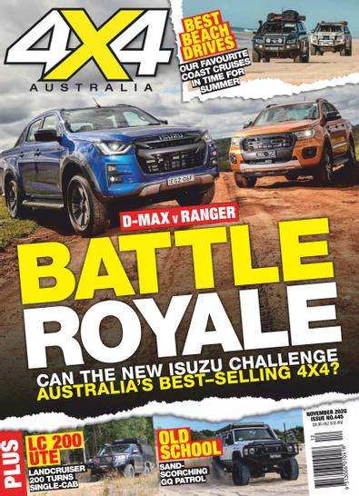 4x4 Magazine Australia digital cover