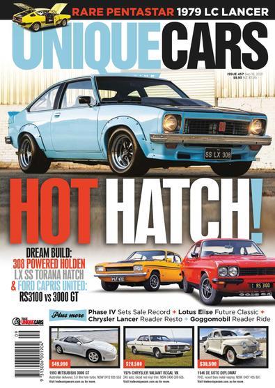 Unique Cars Australia digital cover