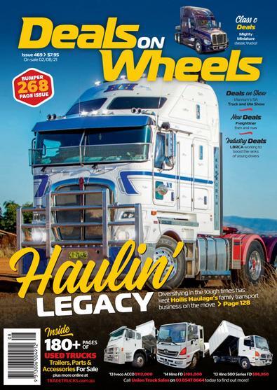 Deals On Wheels Australia digital cover
