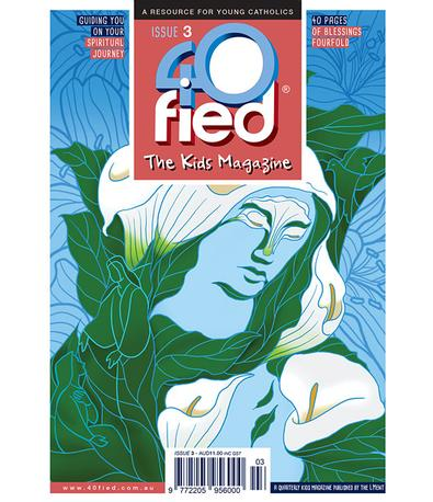 40fied - The Kids Magazine cover