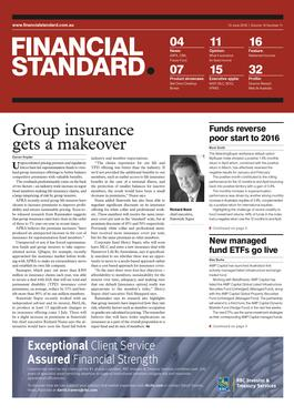 Financial Standard magazine subscription