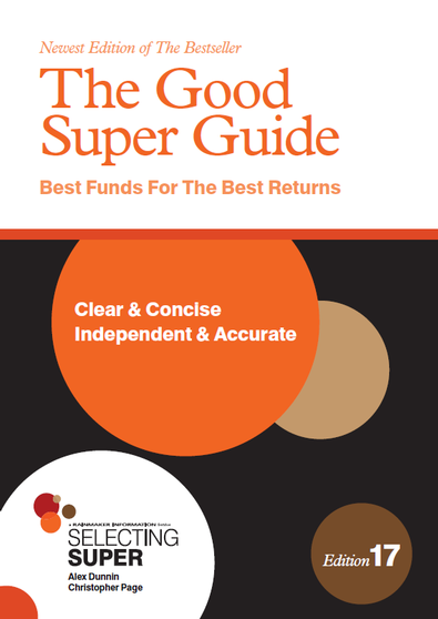 The Good Super Guide cover