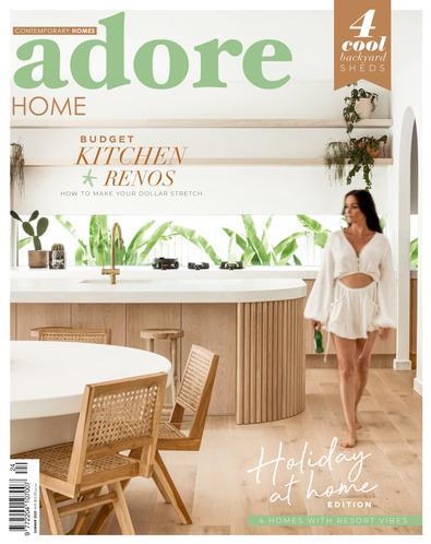 Adore Home Magazine cover