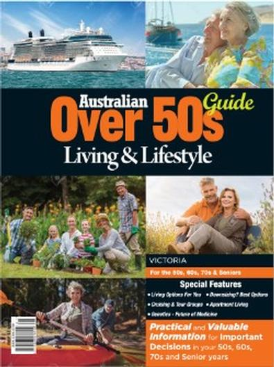 Australian Over 50s Living & Lifestyle Guide VIC magazine cover