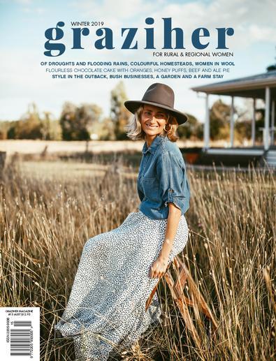 Graziher magazine cover