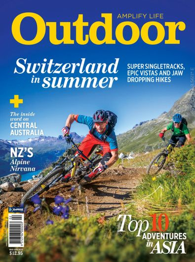 Outdoor magazine cover