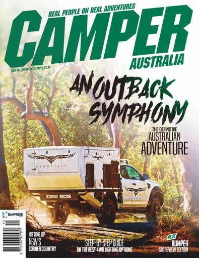 Camper Trailer Australia magazine cover