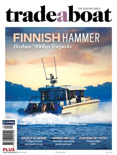 Trade A Boat magazine cover
