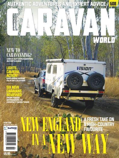 Caravan World magazine cover