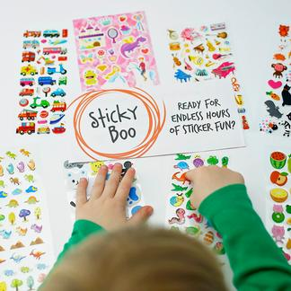 StickyBoo Stickers cover