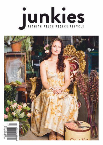 Junkies Magazine cover