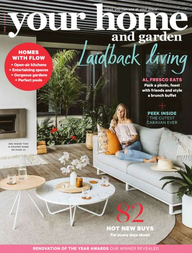 Your Home and Garden (NZ) magazine cover