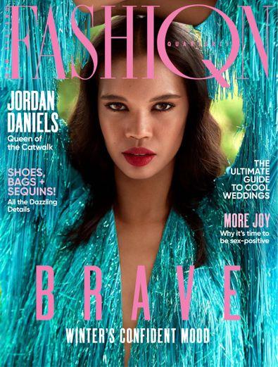 Fashion Quarterly (NZ) magazine cover