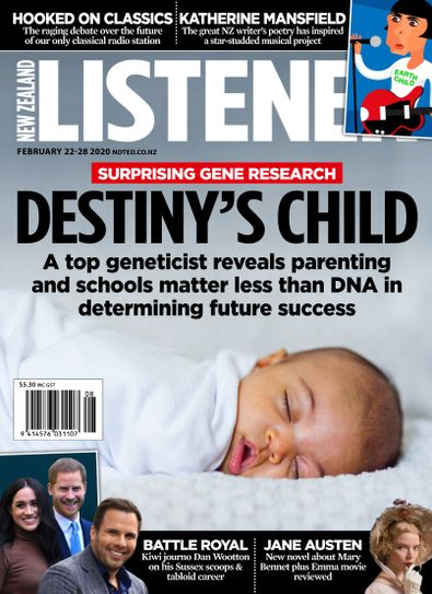 New Zealand Listener (NZ) magazine cover