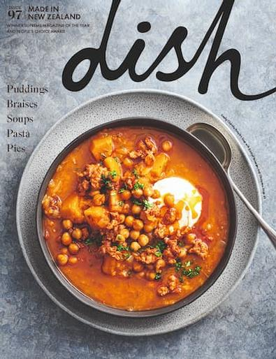 Dish (NZ) magazine cover