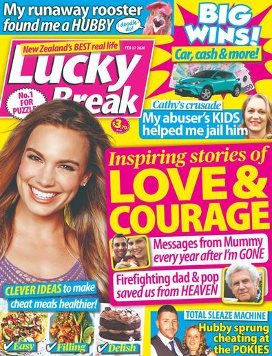 Lucky Break (NZ) magazine cover