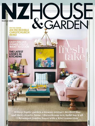 NZ House & Garden (NZ) magazine cover