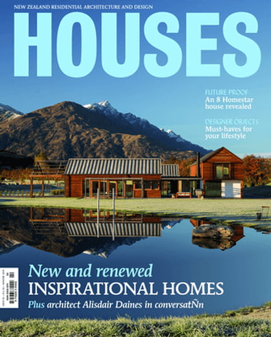 Houses (NZ) magazine cover