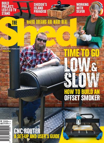 The Shed (NZ) magazine cover