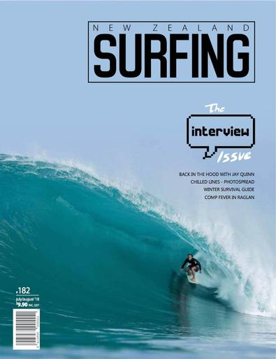 New Zealand Surfing (NZ) magazine cover