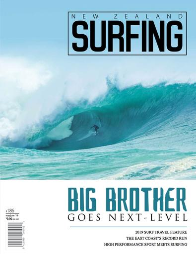 New Zealand Surfing (NZ) magazine cover