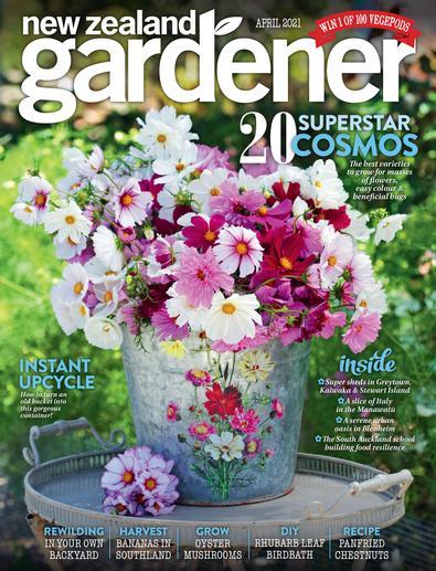NZ Gardener (NZ) magazine cover
