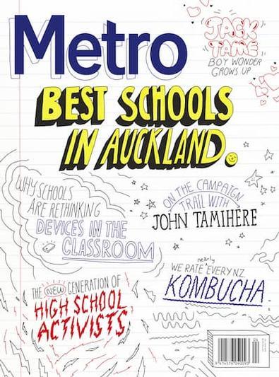 Metro (NZ) magazine cover