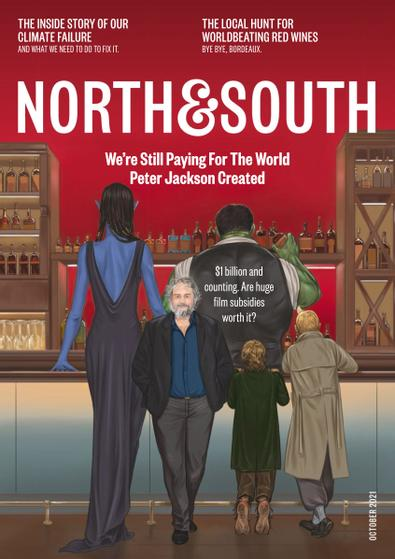 North & South (NZ) magazine cover