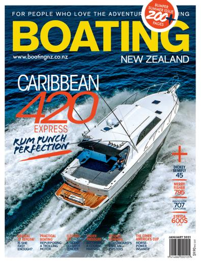 Boating NZ (NZ) magazine cover