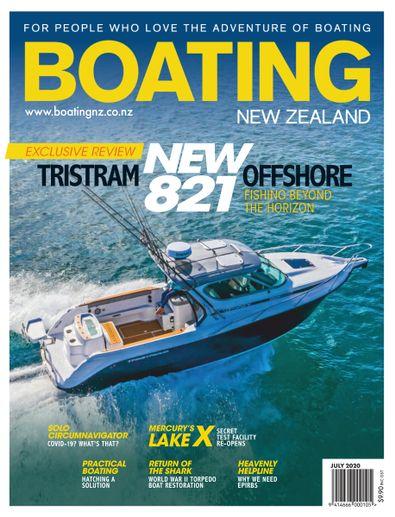 Boating NZ (NZ) magazine cover