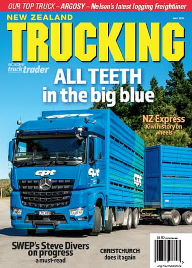 NZ Trucking (NZ) magazine cover
