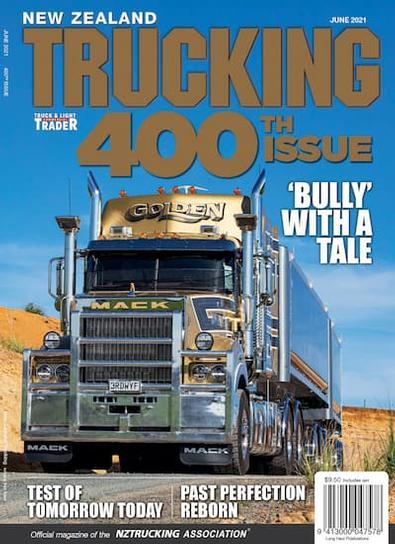 NZ Trucking (NZ) magazine cover