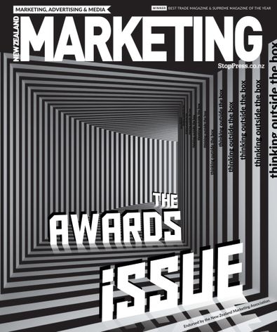 NZ Marketing Magazine (NZ) cover