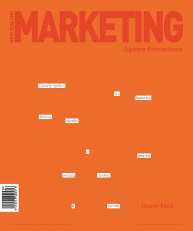NZ Marketing Magazine (NZ) cover