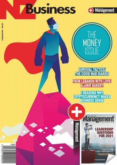 New Zealand Business + Management (NZ) magazine cover
