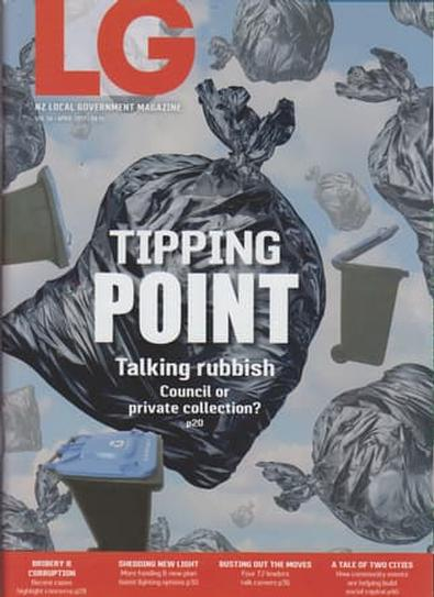 NZ Local Government (NZ) magazine cover
