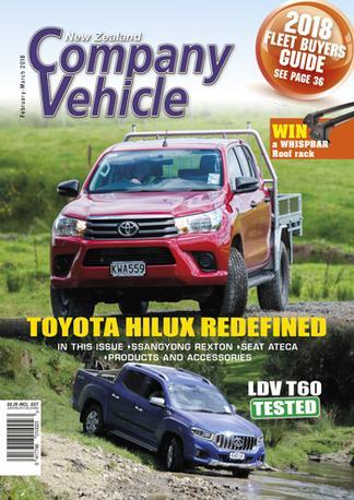 New Zealand Company Vehicle (NZ) magazine cover