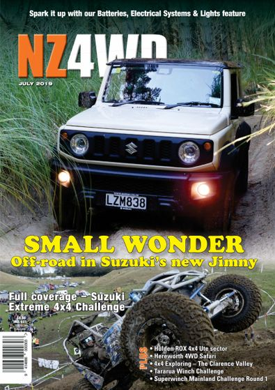 New Zealand 4WD Magazine (NZ) cover