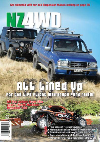 New Zealand 4WD Magazine (NZ) cover