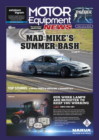 Motor Equipment News (NZ) magazine cover