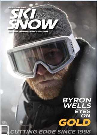 NZ Ski & Snow Magazine (NZ) cover