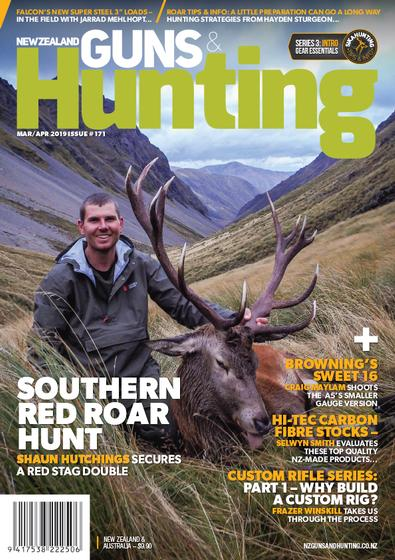 New Zealand Guns & Hunting (NZ) magazine cover