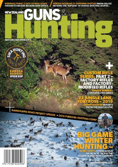 New Zealand Guns & Hunting (NZ) magazine cover