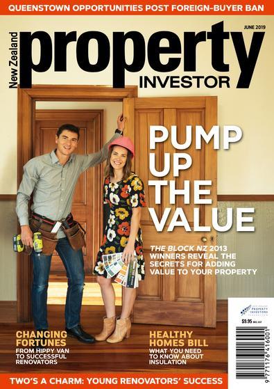 NZ Property Investor (NZ) magazine cover