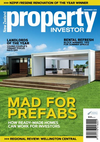 NZ Property Investor (NZ) magazine cover