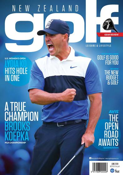 New Zealand Golf Leisure & Lifestyle Magazine (NZ) cover