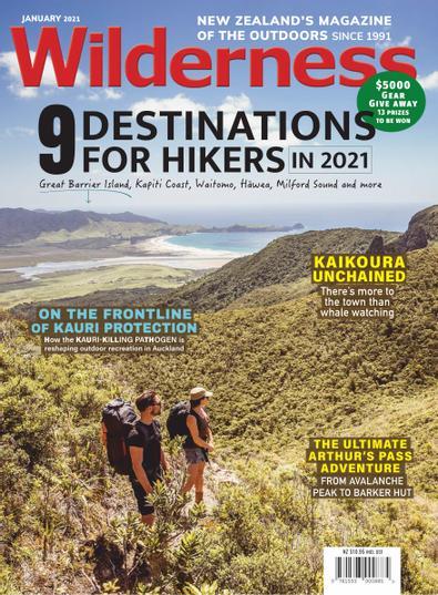 Wilderness (NZ) magazine cover