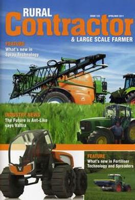 NZ Rural Contractor (NZ) magazine cover